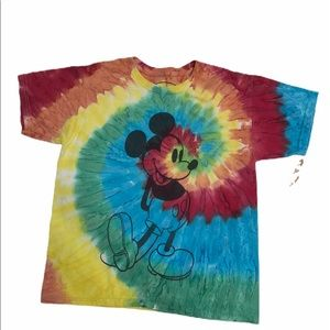 🌵Mikey tie dye T-shirt 10-12 youth large